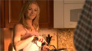 Cooking breakfast Sarah