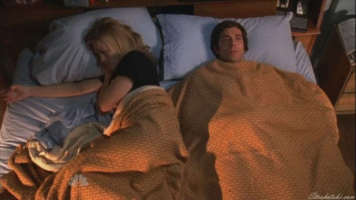 Chucks nervous of Sarah sleeping with him