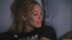 She happy have been able to sleep with Chuck