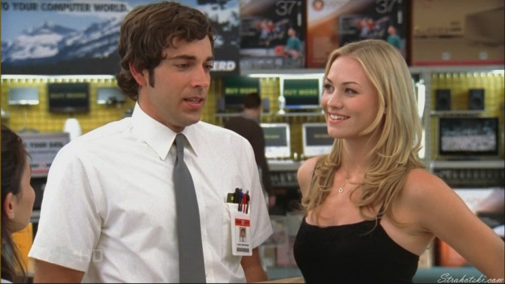 Chuck doesn't know what to say about Sarah