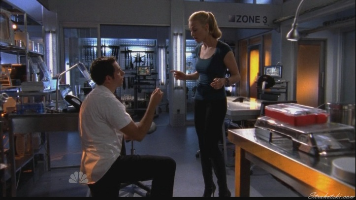 Chuck proposing