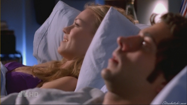 First time in bed together
