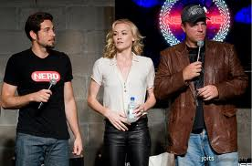 Team Bartowski at Nerd HQ 2012