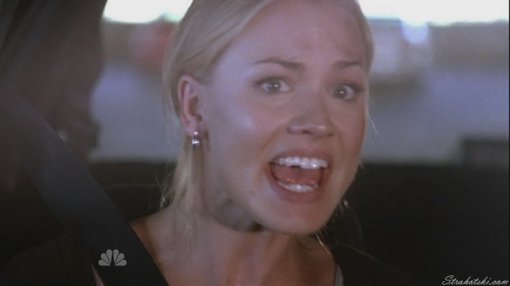 A great shot of Sarah in her fear of losing Chuck