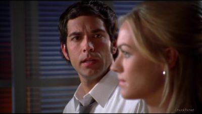 Chuck doesn't like the fact that Sarah was willing to pinch her father