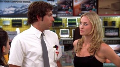 Chuck not call her his girlfriend