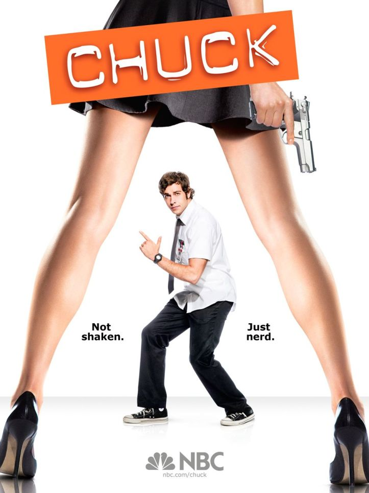 Chuck season 2 dvd cover