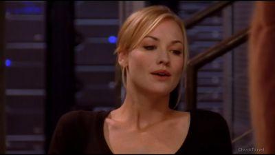Sarah admitting she has feelings for Chuck