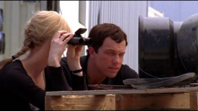 Sarah making Casey call Chuck