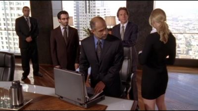 The Sheik putting his account number into computer