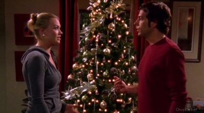 Chuck and Sarah fighting about the kiss