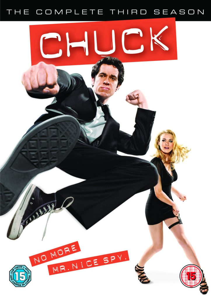 Chuck S3 DVD Cover