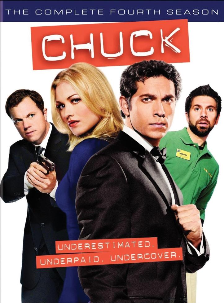 Chuck Season 4 Cover