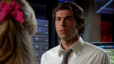 Chuck struggling with the concept of a fake marriage