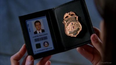 Justin's badge