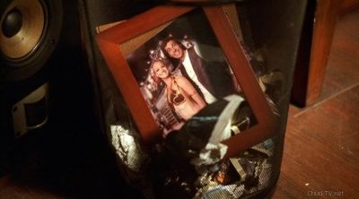 picture in the garbage