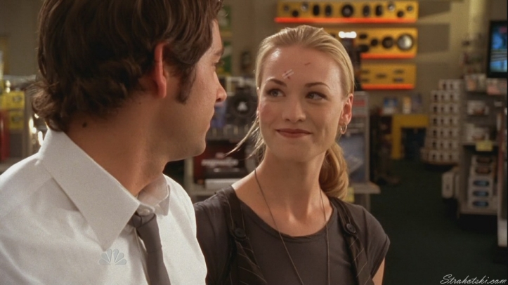 Sarah just happy Chuck is alive