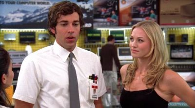 Sarah not understanding why Chuck is not saying Girlfriend
