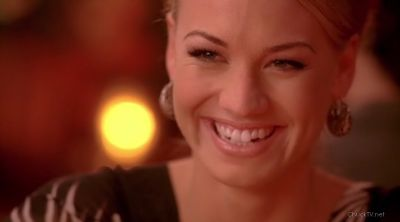 After finding out Chuck was single, she lite up like a Christmas Tree