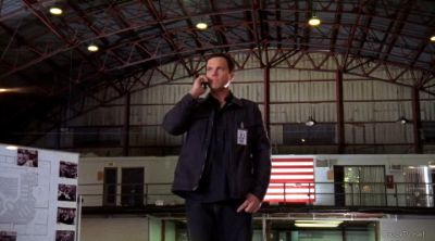 Casey telling Chuck to get down to the warehouse