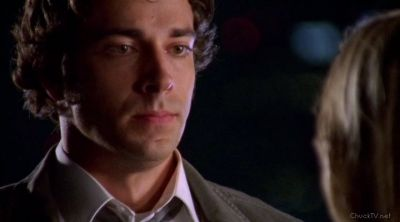 Chuck realizing how much Sarah cares for him