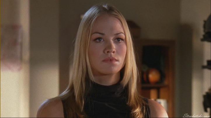 Not the lovable Sarah Walker here