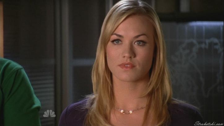 Sarah hearing Beckman offer Chuck a job