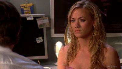 Sarah listening to Chuck