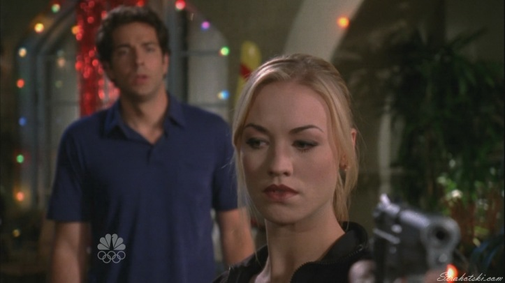 Sarah taking Bartowski's word in for herself.