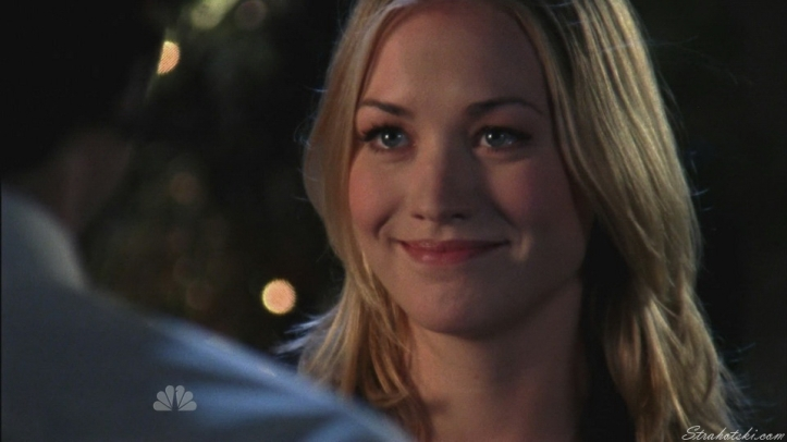 Sarah telling Chuck he can have her