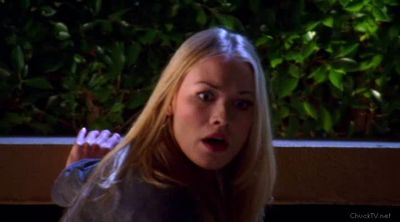 Sarah worried Chuck was hurt from the fall