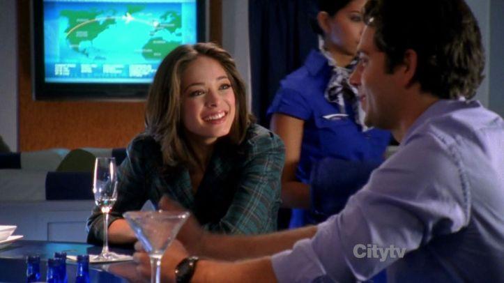 Chuck and Hannah still mingling