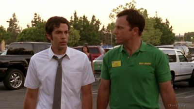 Chuck asking Casey about Graham