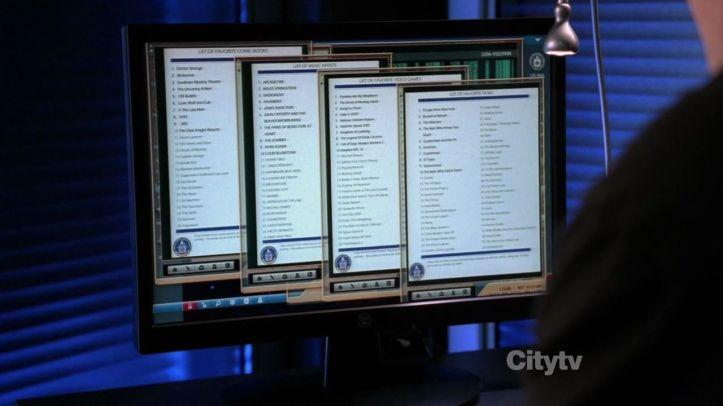 Chuck Bartowski's file