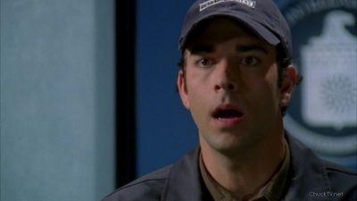 Chuck in shock