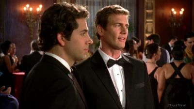 Devon asking Chuck about his relationship with Sarah