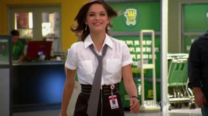 Hannah in her nerd herd gear