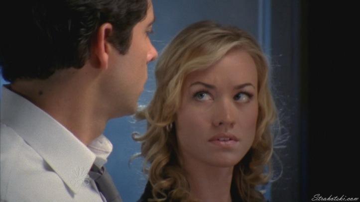 Sarah teaching Chuck about assets