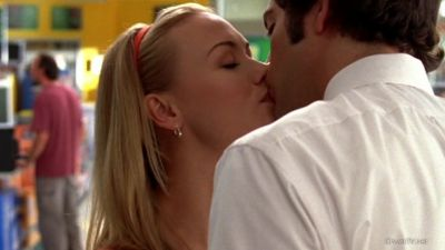 she kissed him with eyes closed, the definition of a real kiss