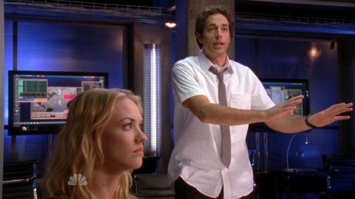 Chuck defending Casey
