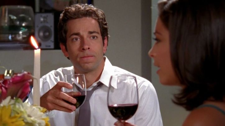 Chuck realizing his with the wrong woman