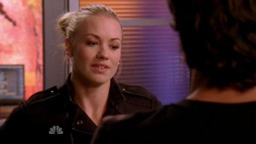 Sarah explaining her feelings on Chuck becoming a spy