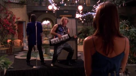 "Jeff: ""You know who can fix that amp in two seconds? Chuck!"" Ellie: ""We do not need Chuck!!!"""