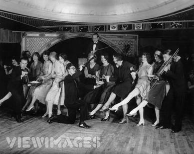People dancing to Jazz