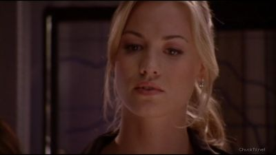 Sarah reaction to seeing Chuck go off grid