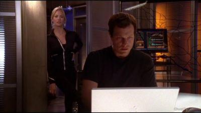 Sarah wondering where Chuck was