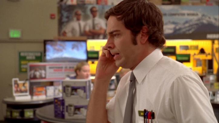 Chuck called Casey about his former Sensei
