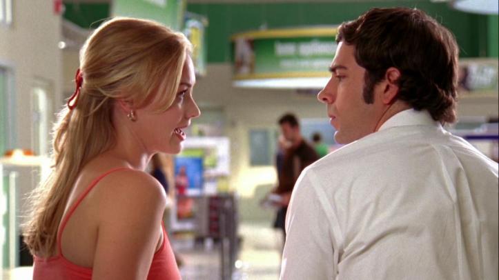 Sarah  reminding Chuck about betrayal
