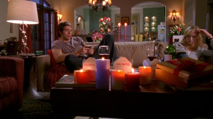 Chuck and Sarah on their date