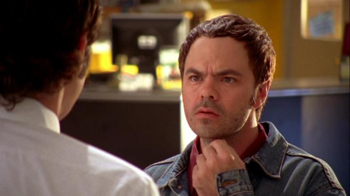 Chuck confirming he was the one the feds were protecting